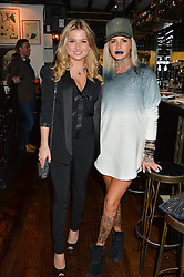 Left to right, ZARA HOLLAND and JEMMA LUCY at a party hosted by Fred Sirieix, Maître d' on Channel 4's 'First Dates' at his favourite Spanish restaurant, El Pirata, 5-6 Down Street, London to celebrate the publication of his new book 'First Dates: The Art of Love' on 10th October 2016.
