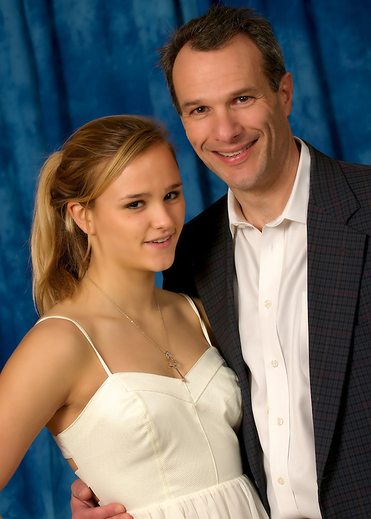 Jeff and Sasha Hanway at the Father Daughter Dance at Chevy Chase Ballroom on March 11, 2011. (Photos by Alan Lessig Photography)