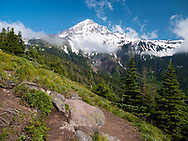 The hike to McNeil Point on the western flank of Mt. Hood in the Mt. Hood National Forest