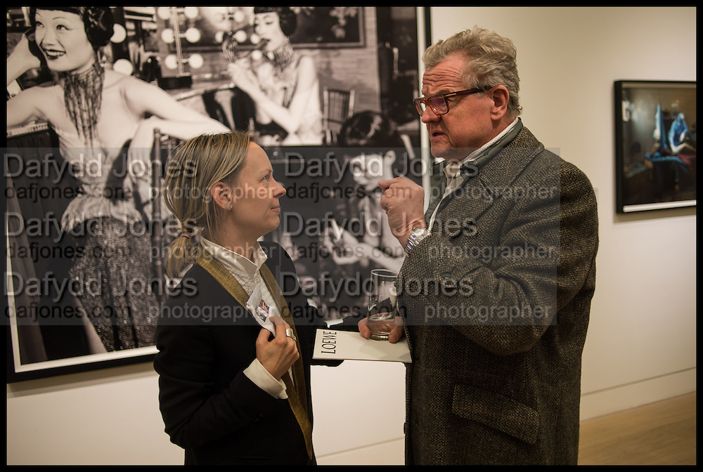 LOU PROUD; TONY MCGEE, Steven Meisel: Role Play - private view Phillips,, Berkeley Sq. London. 16 December 2014.