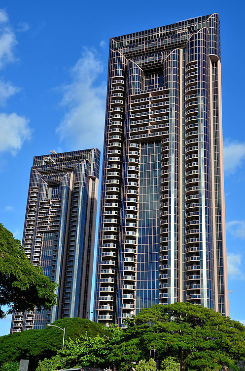 One Waterfront Towers in Honolulu, O&rsquo;ahu, Hawaii<br />