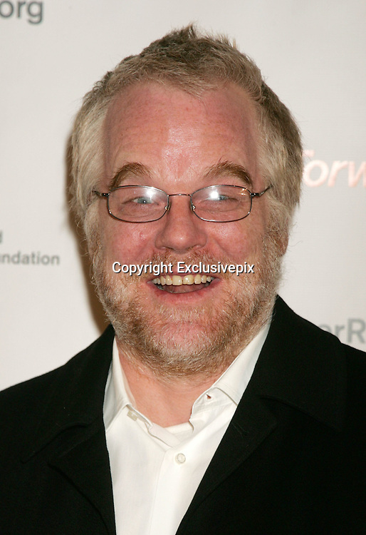 Nov 12, 2007 - New York, NY, USA -Actor PHILIP SEYMOUR HOFFMAN at the arrivals for  'A Magical Evening' Gala benefiting The Christopher and Dana Reeve Foundation held at the Marriot Marquis Hotel.<br /> &copy;Exclusivepix