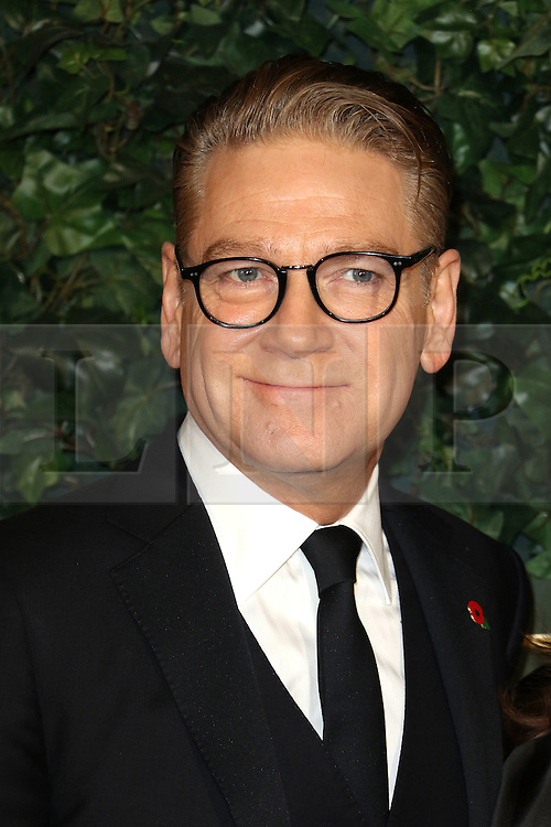 © Licensed to London News Pictures. 13/11/2016. London, UK, Kenneth Branagh, Evening Standard Theatre Awards, Photo credit: Richard Goldschmidt/LNP