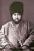 Uzbekistan, Khiva. Mohammed Rakhim Khan Medressa. Mukhammad Rakhimkhan II - Feruz (1864-1910).