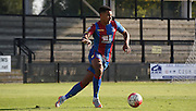 Ben Wynter takes control from the back during the Final Third Development League match between U21 Crystal Palace and U21 Coventry City at Selhurst Park, London, England on 12 October 2015. Photo by Michael Hulf.