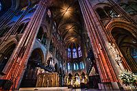 La Cathédrale Notre Dame de Paris (interior)
