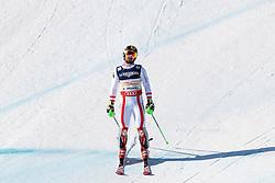 13.02.2017, St. Moritz, SUI, FIS Weltmeisterschaften Ski Alpin, St. Moritz 2017, alpine Kombination, Herren, Slalom, im Bild Marcel Hirscher (AUT, Herren Alpine Kombination Silbermedaille) // men's Alpine Combined Silver medalist Marcel Hirscher of Austria reacts after his run of Slalom competition for the men's Alpine combination of the FIS Ski World Championships 2017. St. Moritz, Switzerland on 2017/02/13. EXPA Pictures © 2017, PhotoCredit: EXPA/ Johann Groder