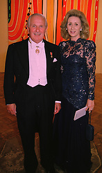 LORD & LADY WOLFSON OF MARYLEBONE at a dinner in London on 27th May 1998.MHX 72