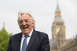 © Licensed to London News Pictures . 20/04/2017 . London , UK . BOB MARSHALL-ANDREWS seen outside Parliament today (20th April 2017) . Bob Marshall Andrews has defected from the Labour Party to the Liberal Democrats . Photo credit: Joel Goodman/LNP