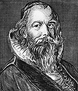 Ole Worm (1588-1654) Danish scholar; pioneer of old Icelandic studies. Engraving.