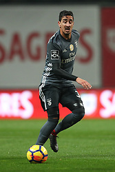 January 13, 2018 - Braga, Braga, Portugal - Benfica's Portuguese defender Andre Almeida in action during the Premier League 2017/18 match between SC Braga and SL Benfica, at Municipal de Braga Stadium in Braga on January 13, 2018. (Credit Image: © Dpi/NurPhoto via ZUMA Press)