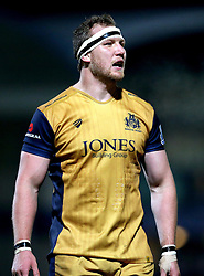 Nick Koster of Bristol Rugby - Mandatory by-line: Robbie Stephenson/JMP - 04/11/2016 - RUGBY - Sixways Stadium - Worcester, England - Worcester Warriors v Bristol Rugby - Anglo Welsh Cup