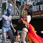 Coney Island Mermaid Parade in Brooklyn - June 19, 2010