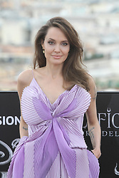 October 7, 2019, Roma, Italy, Italy: Angelina Jolie make the photocall for the movie ''Maleficent - Lady of Evil'' at Hotel De La Ville. (Credit Image: © Paolo Pizzi/Pacific Press via ZUMA Wire)