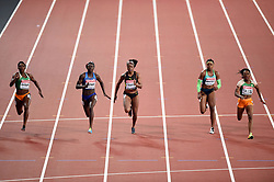 A general view of the Final - Mandatory byline: Patrick Khachfe/JMP - 07966 386802 - 06/08/2017 - ATHLETICS - London Stadium - London, England - Women's 100m Final - IAAF World Championships