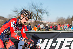 Andrew Dillman (USA), Men Under 23, Cyclo-cross World Championships Tabor, Czech Republic, 1 February 2015, Photo by Pim Nijland / PelotonPhotos.com