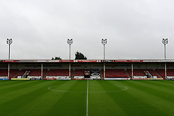 A general view of the Bescot Stadium ahead of the Capital One game between Walsall and Brighton - Mandatory byline: Dougie Allward/JMP - 07966386802 - 25/08/2015 - FOOTBALL - Bescot Stadium -Walsall,England - Walsall v Brighton - Capital One Cup - Second Round