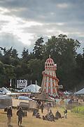 The helter skelter - The 2017 Latitude Festival, Henham Park. Suffolk 14 July 2017