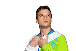 Jure Pavlica at official photoshoot of Slovenian Gymnastics team prior to 2018 Koper Challenge Cup, on May 14, 2018 in Gimnasticna dvorana, Ljubljana, Slovenia. Photo by Matic Klansek Velej / Sportida