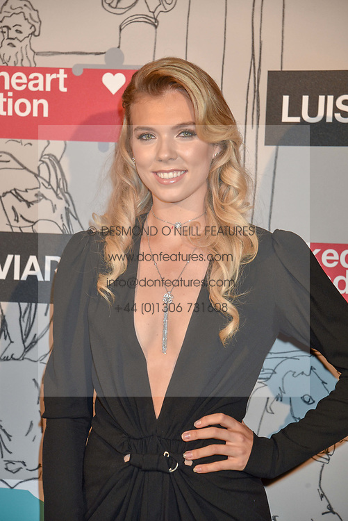 Katie Boulter at the Fabulous Fund Fair in aid of Natalia Vodianova's Naked Heart Foundation in association with Luisaviaroma held at The Round House, Camden, London England. 18 February 2019.