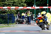 Arrestatieteam politie kamt wijk Baarn uit