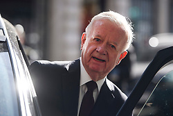 ©  London News Pictures. 06/07/2016. London, UK. SIR JOHN CHILCOT seen leaving his home in central London on the day that the long-awaited Chilcot inquiry into the war in Iraq is due to be released. Photo credit: Ben Cawthra/LNP