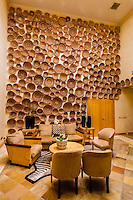 The Basket Room, Saxon Hotel, Johannesburg, South Africa.