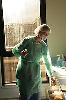 post operation care....Hospital St. Louis, a public assistance hospital, Paris ....Model released......