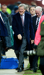 England Manager Roy Hodgson arrives at Deepdale - Photo mandatory by-line: Matt McNulty/JMP - Mobile: 07966 386802 - 16/02/2015 - SPORT - Football - Preston - Deepdale - Preston North End v Manchester United - FA Cup - Fifth Round