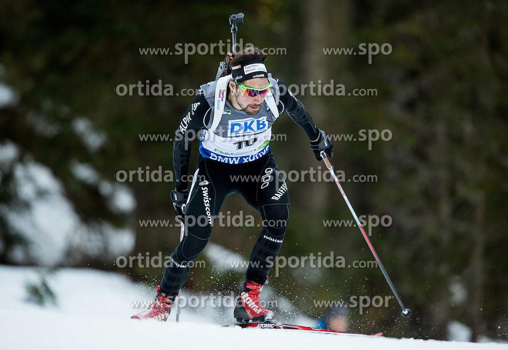 WEGER Benjamin (SUI) competes during Men 10 km Sprint at day 2 of IBU Biathlon World Cup 2014/2015 Pokljuka, on December 19, 2014 in Rudno polje, Pokljuka, Slovenia. Photo by Vid Ponikvar / Sportida