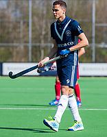 AMSTELVEEN -  Camil Papa (Pinoke)      tijdens de hoofdklasse competitiewedstrijd heren hockey Pinoke-Kampong (1-4) .   COPYRIGHT KOEN SUYK