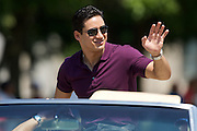 Actor and television personality Mario Lopez seen in the IPL 500 Festival Parade on Saturday morning.