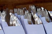 Buffet lunch aboard the Sea Cloud.