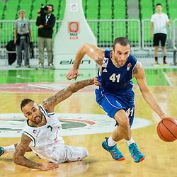 20151007: SLO, Basketball - ABA League 2015/16, KK Union Olimpija vs KK Sutjeska