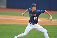 Ole Miss' Chris Ellis (10) vs. Alabama at Oxford-University Stadium in Oxford, Miss. on Sunday, April 14, 2013. Ole Miss won 4-3 in 11 innings.