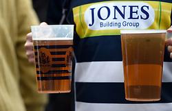 Pre match drinks - Mandatory byline: Joe Meredith/JMP - 25/05/2016 - RUGBY UNION - Ashton Gate Stadium - Bristol, England - Bristol Rugby v Doncaster Knights - Greene King IPA Championship Play Off FINAL 2nd Leg.
