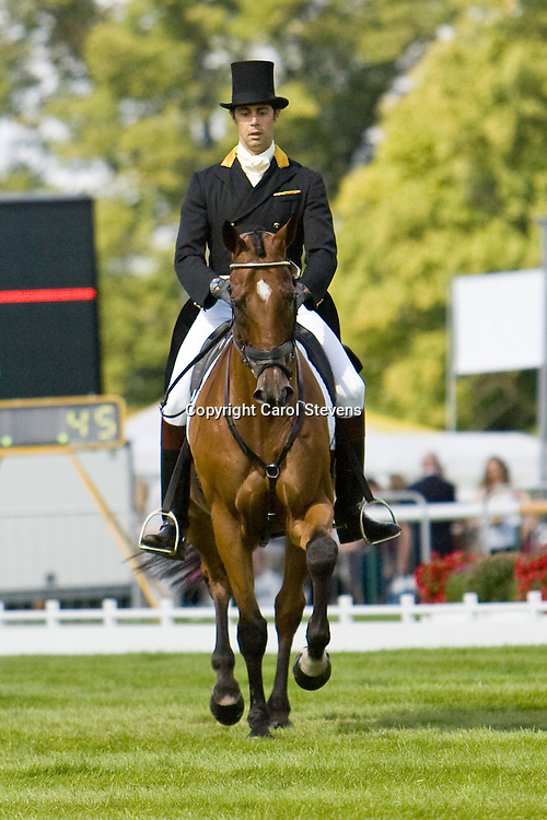Land Rover Burghley Horse Trails 2010<br /> Dressage Day 2