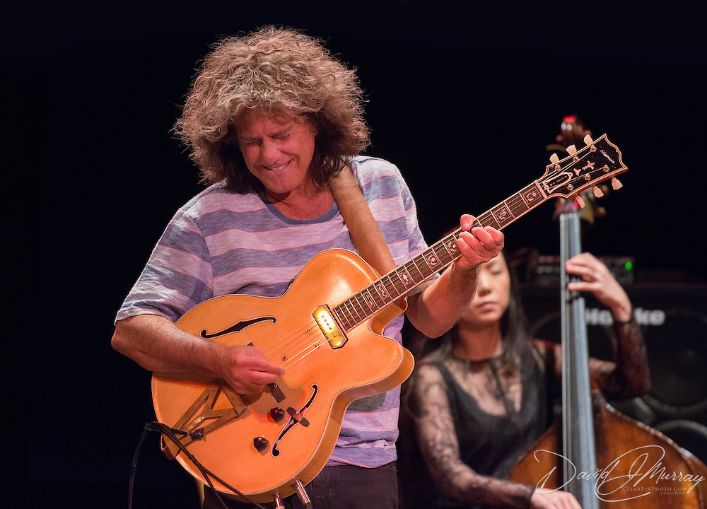Guitarist Pat Metheny performs with bassist Linda Oh, pianist Gwilym Simcock, and drummer Antonio Sanchez at The Music Hall in Portsmouth, NH on January 17, 2017