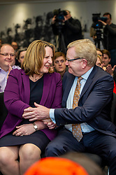 Pictured: Michelle Ballantyne and Jackson Carlaw<br />