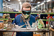 Brompton folding bikes factory