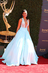 April 30, 2017 - Pasadena, CA, USA - LOS ANGELES - APR 30:  Karla Mosley at the 44th Daytime Emmy Awards - Arrivals at the Pasadena Civic Auditorium on April 30, 2017 in Pasadena, CA (Credit Image: © Kathy Hutchins/via ZUMA Wire via ZUMA Wire)