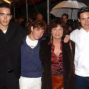 NLD/Utrecht/20051001 - Nederlands Filmfestival 2005, Premiere Johan, Linda van Dijck en