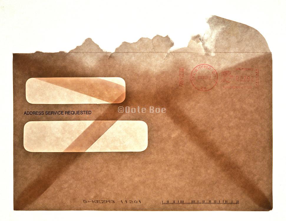 torn envelope
