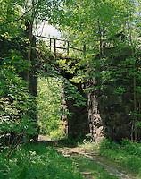 Railroad bridge near Connecticut River, Hinsdale, NH