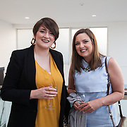 13.05.2016.           <br /> Eva Shortt, LSAD and Mired Keogh, Students Union pictured at the much anticipated Limerick School of Art & Design, LIT, (LSAD) Graduate Fashion Show on Thursday 12th May 2016. The show took place at the LSAD Gallery where 27 graduates from the largest fashion degree programme in Ireland showcased their creations. Ranked among the world's top 50 fashion colleges, Limerick School of Art and Design is continuing to mold future Irish designers.. Picture: Alan Place/Fusionshooters