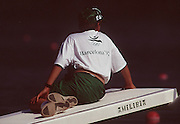 .Barcelona Olympic Games 1992.Olympic Regatta - Lake Banyoles.Boat Boy..       {Mandatory Credit: © Peter Spurrier/Intersport Images]..........       {Mandatory Credit: © Peter Spurrier/Intersport Images].........