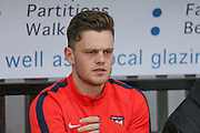 York City forward Reece Thompson  during the Sky Bet League 2 match between Cambridge United and York City at the R Costings Abbey Stadium, Cambridge, England on 20 February 2016. Photo by Simon Davies.