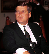 John Fitzgerald Kennedy (May 29, 1917 – November 22, 1963), 35th President of the United States, serving from 1961 until his assassination in 1963.