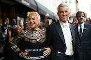 Catherine Martin and Baz Luhrmann at the Met Gala 2015