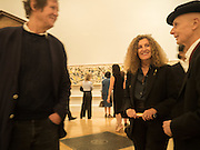 DAVID HARE; NICOLE FAHRI; DAVID RENFRY, Opening of Abstract Expressionism, Royal Academy, Piccadilly, London, 20 September 2016